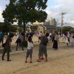 高木公園でラジオ体操